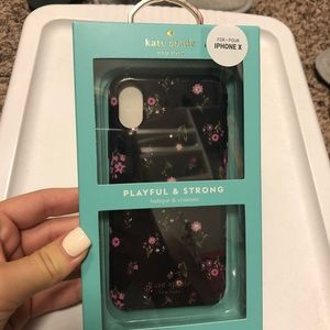 Kate spade iPhone X phone case ♠️